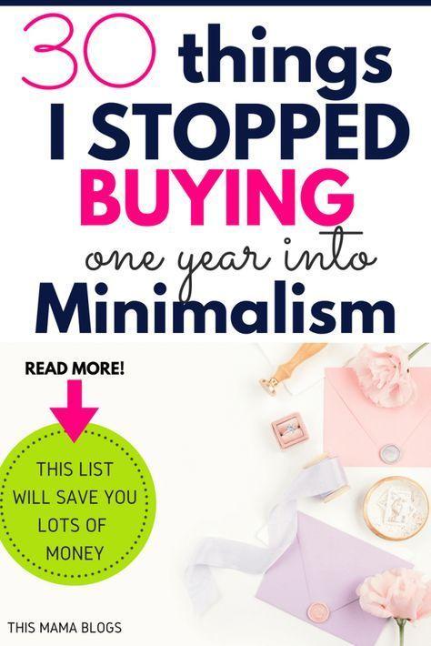 Ich habe aufgehört, viele Dinge zu kaufen, seit ich angefangen habe, mein Leben zu vereinfachen. Hier ist ein …   – {Simple Living}