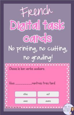 Save yourself time and money with digital task cards!