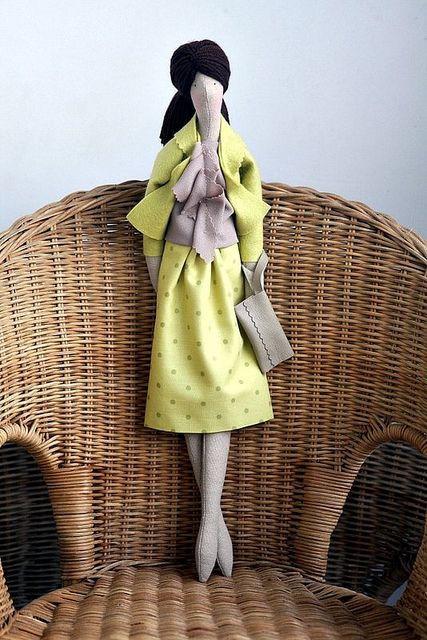 Pat's Doll by made by agah, via Flickr