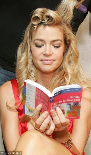 Caught You Reading: Denise Richards