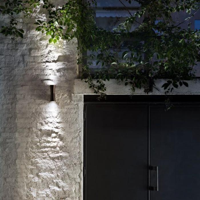 наружное освещение, лаконичный и простой свет стены, современный дизайн