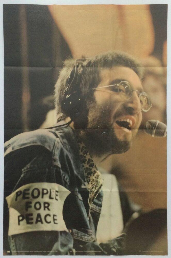 John Lennon 1970 Top Of The Pops Instant Karma Merchandising Poster Uk With Images John Lennon Instant Karma Lennon
