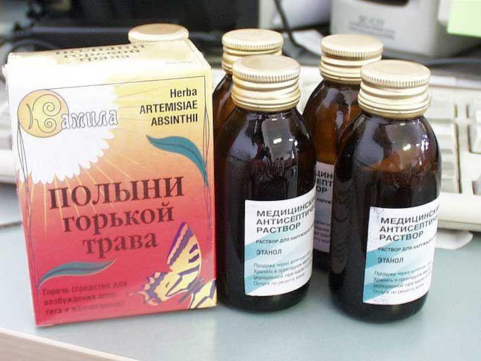 лечение полынью от паразитов отзывы
