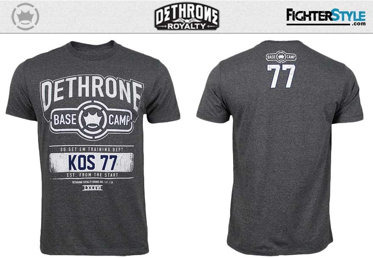 Josh Koscheck Walkout Shirt UFC 157 at http://www.fighterstyle.com/dethrone-josh-koscheck-walkout-shirt-ufc-157/