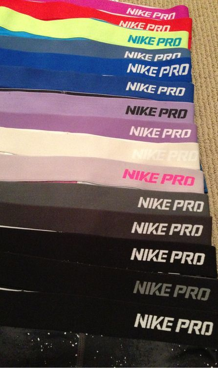 addiction? or just really loves Nike pro?  Either way, yay for fitness.