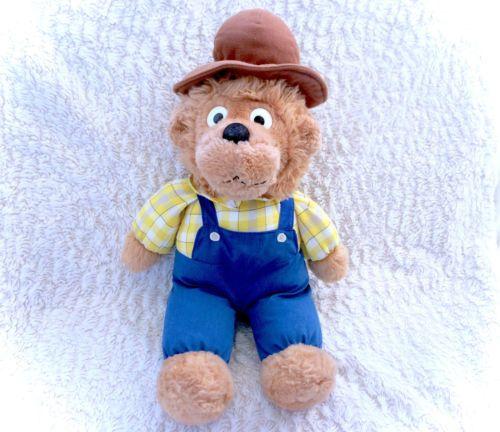 Vintage-18-Berestein-Bears-Papa-Bear-Plush-Plushie-Rare-Htf-Berenstain-1996-EUC