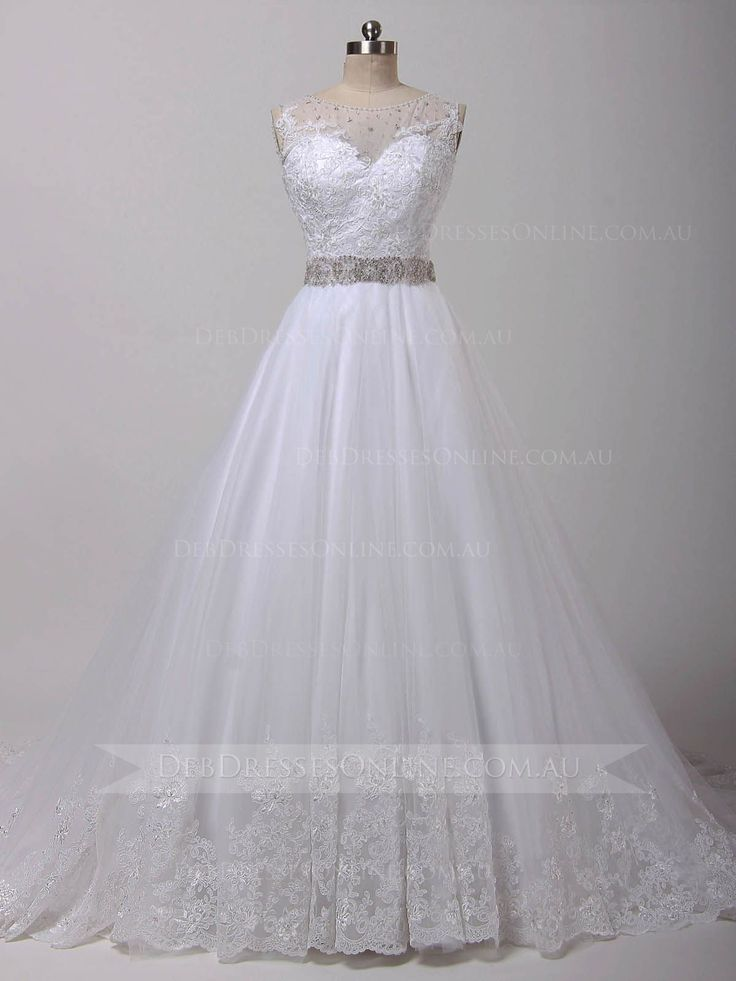 This fabulous vintage inspired gown is perfect for a debutante ball, features with full lace bodice and Swarovski crystals scattered through the illusion bateau neckline and densely embellished the waistband. Finished with scalloped lace hemline and zipper. #chicdebdress #lacedebdress #debutantegown #debdressesonline  #debdresses  #debdressshop  #debutante  #debutantes2016 #debutanteball #debdressesmelbourne #timelesschicdebdress #modestdebdress