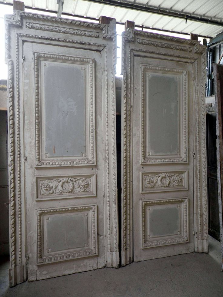 Interior design decoration loft furniture antique for French country doors