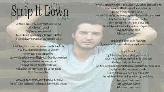 Strip lyrics from songs free