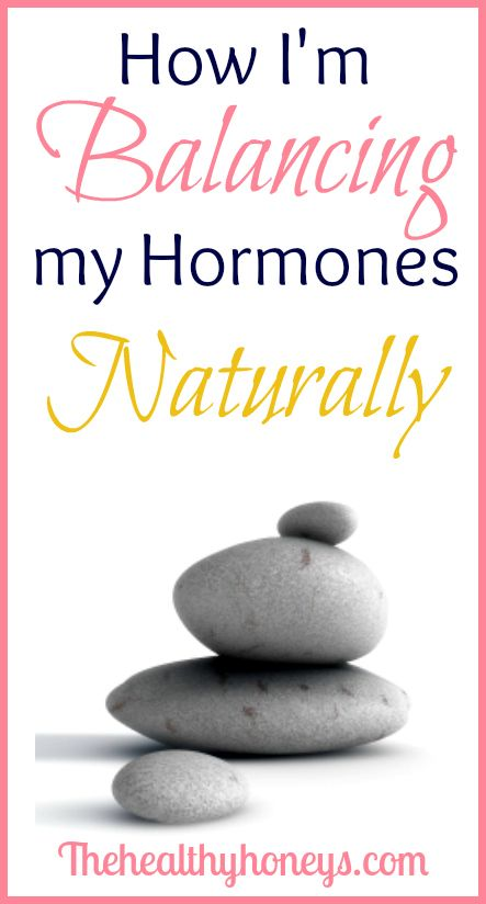 How I'm Balancing My Hormones Naturally - The Healthy Honeys #health #hormones #women