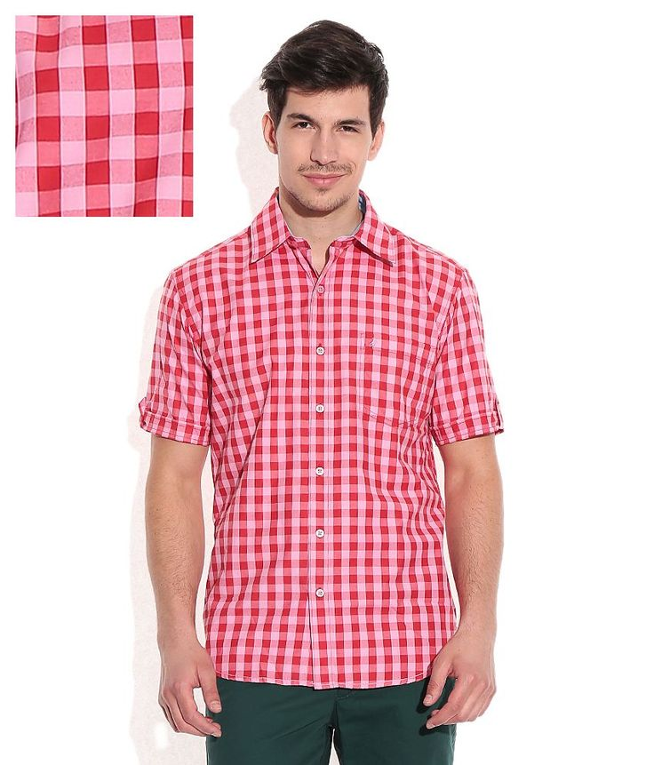 John Players Red Regular Fit Casual Shirt, http://www.snapdeal.com/product/john-players-red-regular-fit/629720216904
