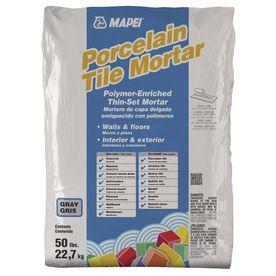 MAPEI Ultraflex Gray Powder Polymer-Modified Thinset Mortar