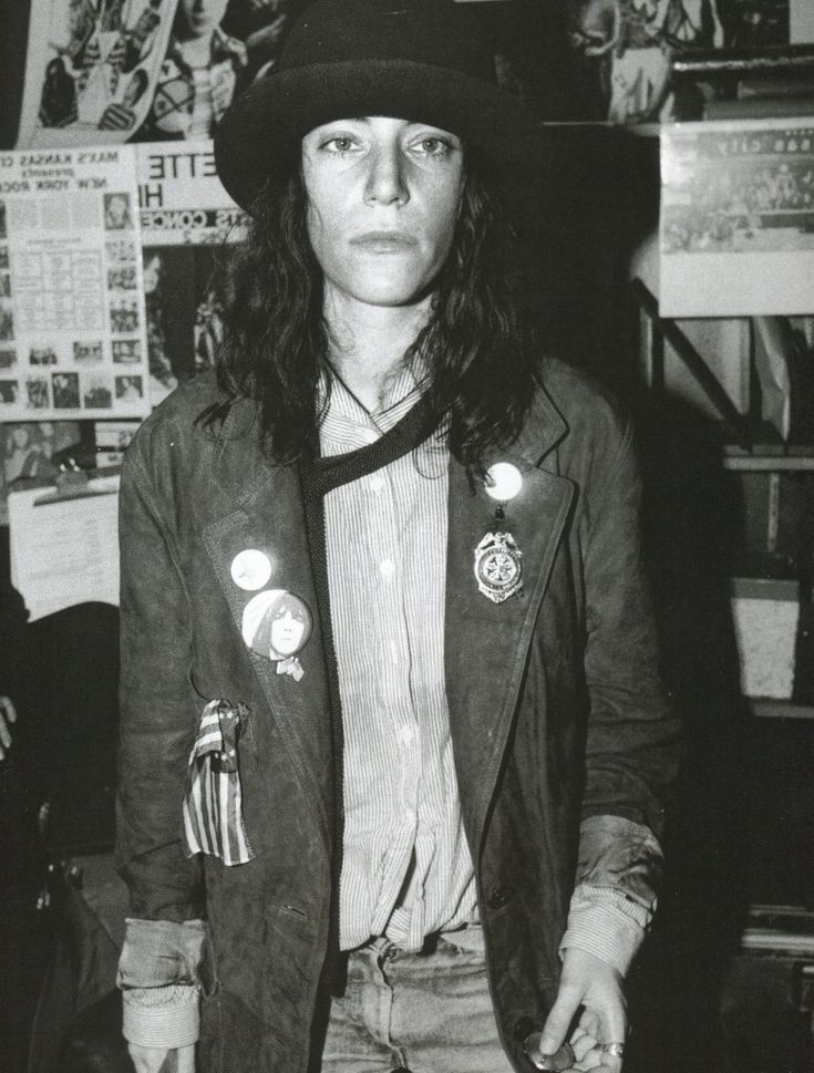 Patti Smith helped dispelled the myth that #drugs enhance creativity. // how? She took drugs 'when she was working'. As a poet/songstress -- fact is, you're never 'not working'. i don't know where this notion comes from about Patti. ! ha