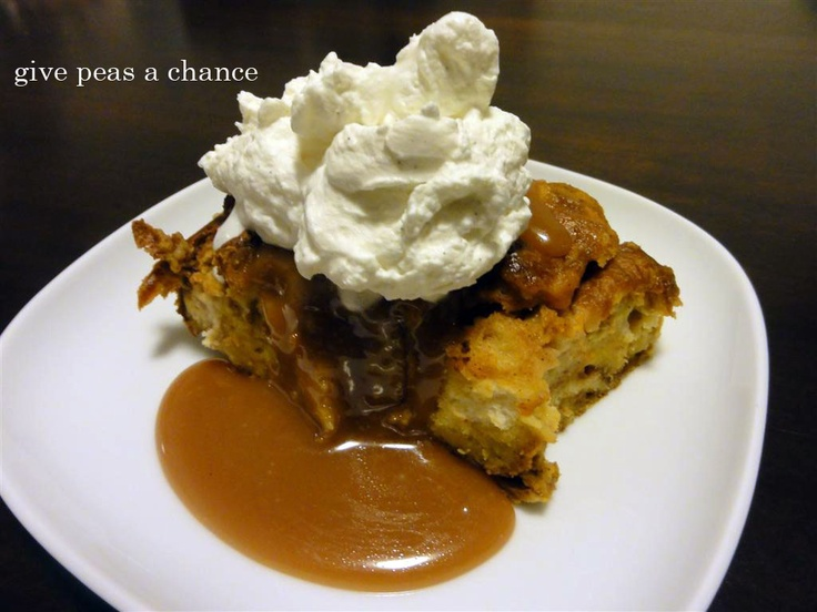 Give Peas a Chance: Pumpkin Bread Pudding. #holidays #thanksgiving