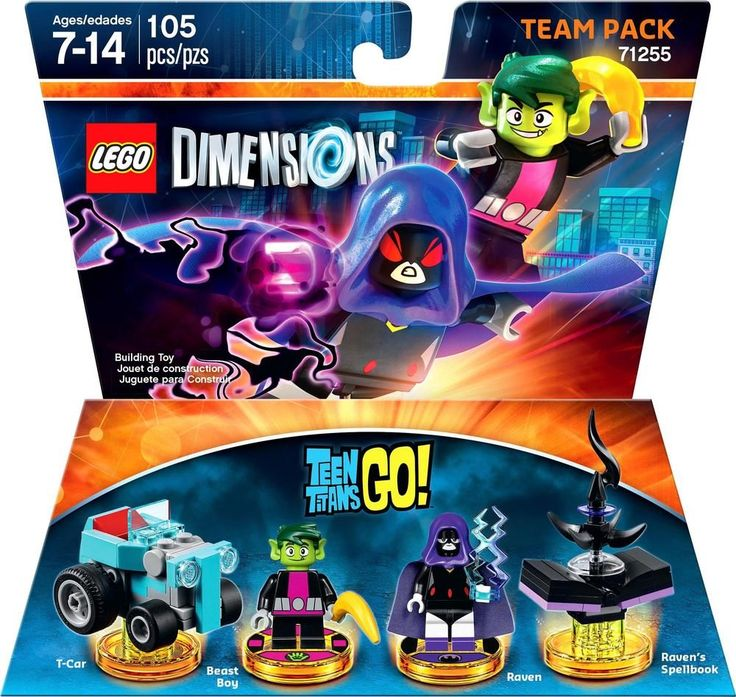 Lego Dimensions - Teen Titans Go! Team Pack (Raven and Beast Boy)