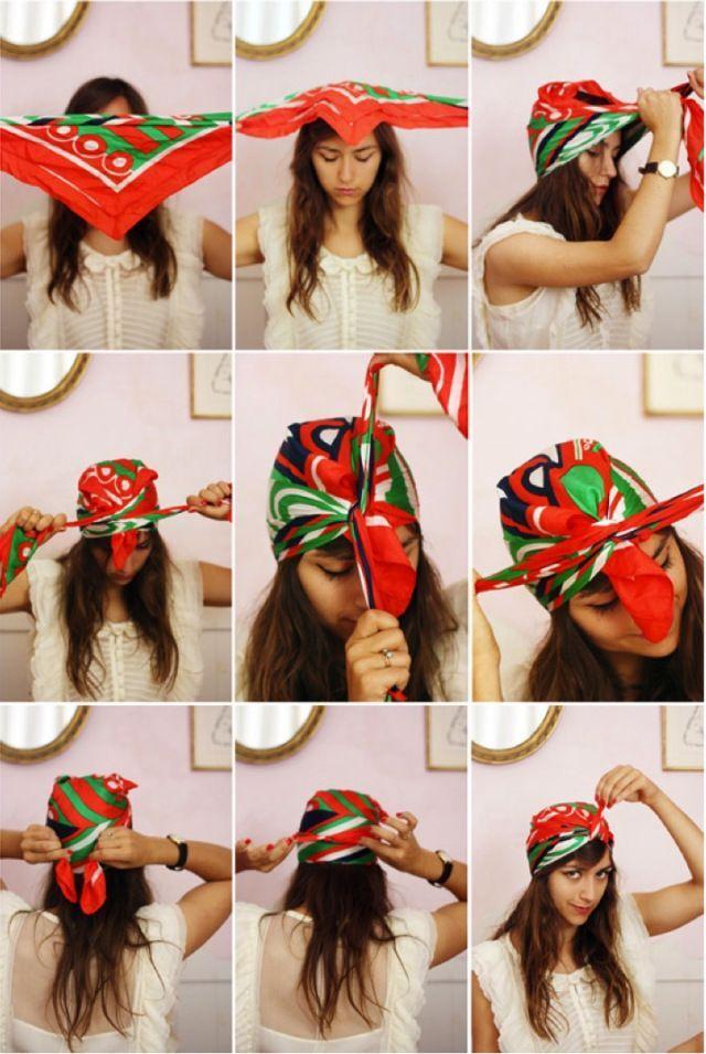 """Ameixa Japonesa: Vá de lenço na cabeça, o acessório """"it"""" da temporada"""