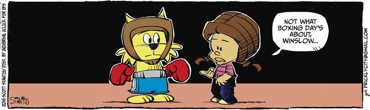 Prickly City Comic Strip, December 26, 2016 on GoComics.com