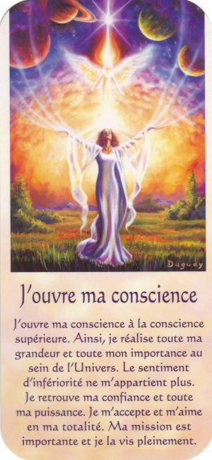 j'ouvre ma conscience + texte