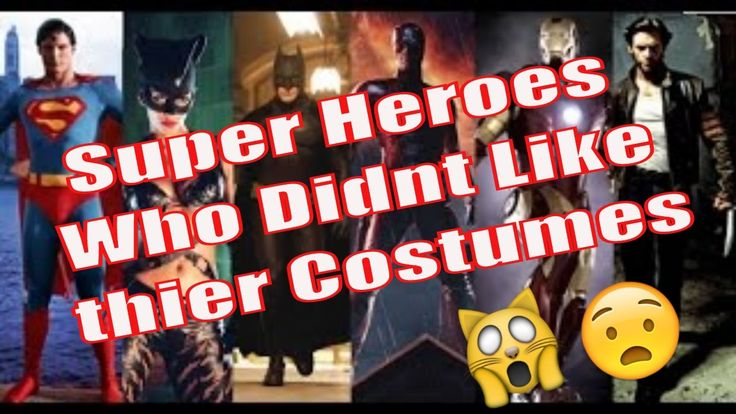 10 Actors Who Disliked Their Superhero Costumes [Superhero Costumes Real...