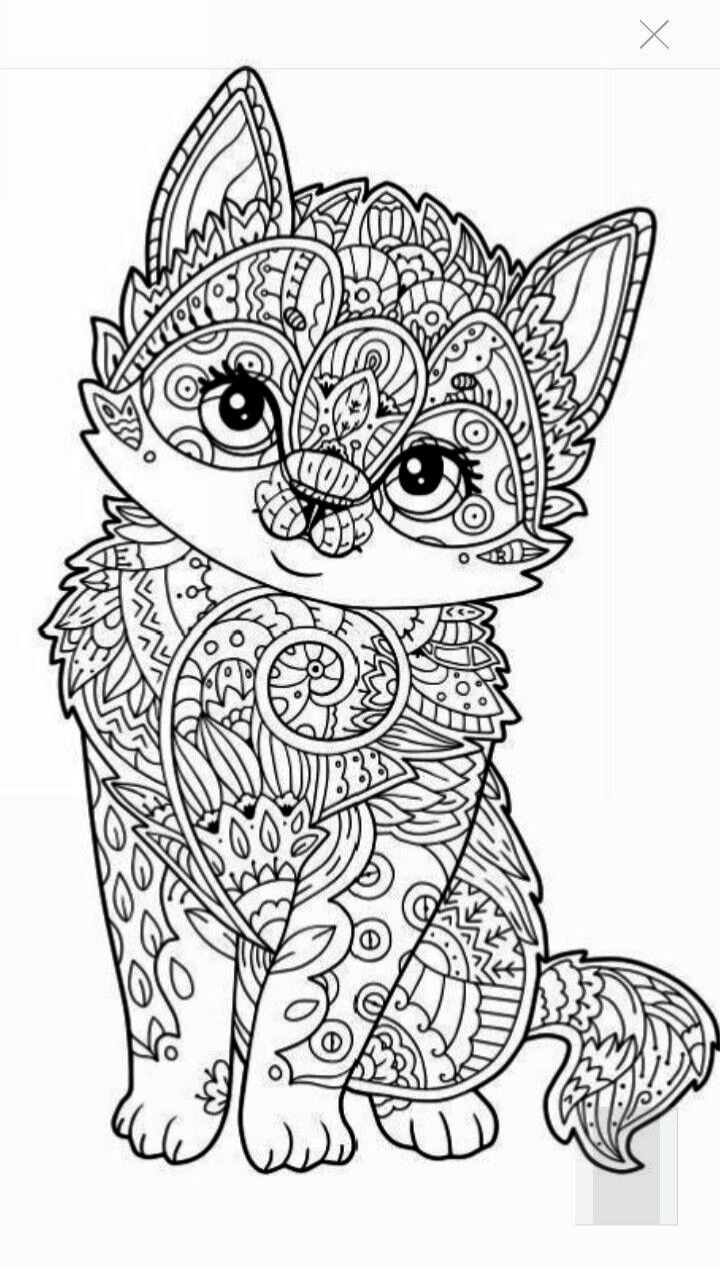 Cute Cats Magic Adventure Mod Apk How To Draw Cute Cats And Kittens Mandala Coloring Pages Dog Coloring Page Cat Coloring Page