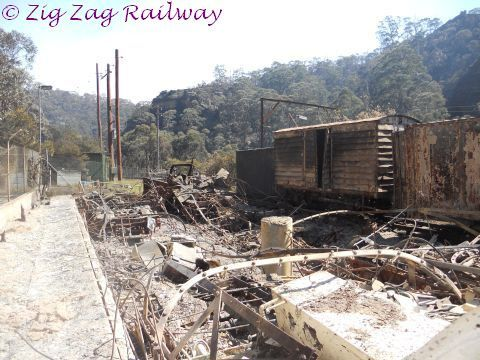 Whats left of the Caretakers AM car | by zigzagrailway@yahoo.com.au