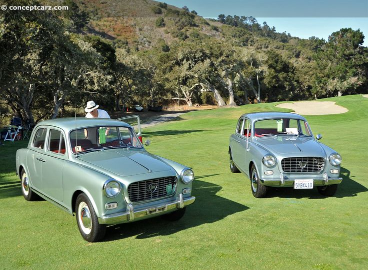 A nice pair of Lancia Appia's