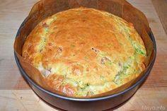 Torta 7 vasetti salata - cotto fontina e zucchine