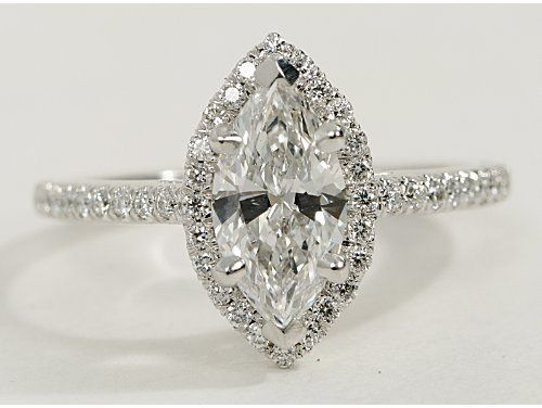 Stunning wedding ring - Marquise. I can keep my original diamond with it's history but with a modern look