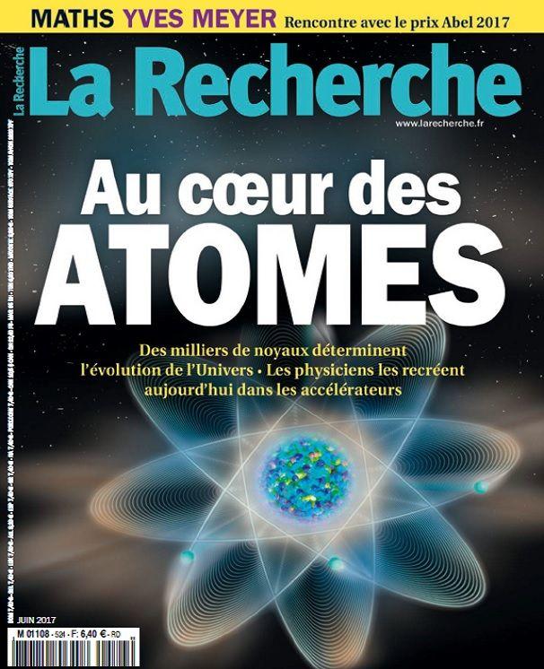 La Recherche n° 524 : Article sur Yves Meyer, prix Abel