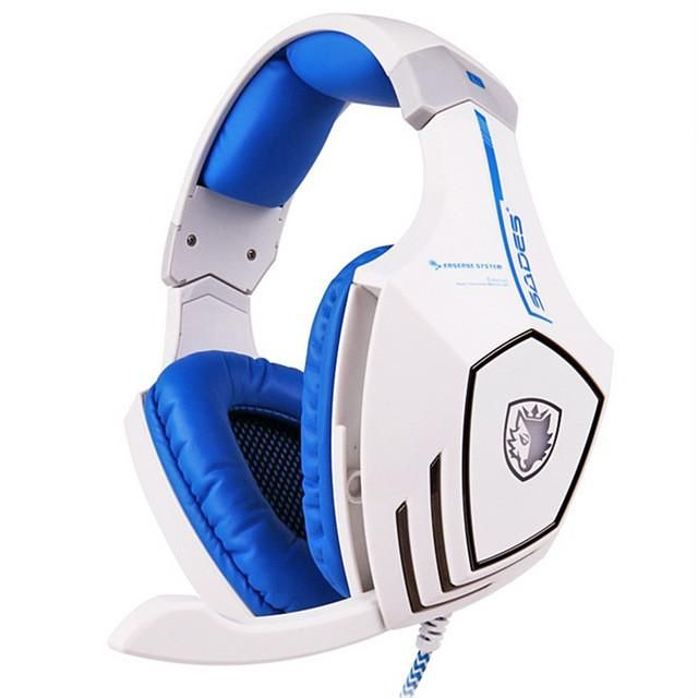 Virtual Surround Sound Stereo USB Gaming Headphone Headset With Physical Vibration
