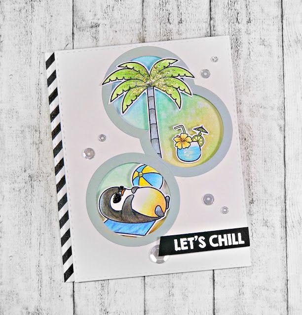 RL Design - Invitatii si felicitari Handmade : Let's Chill - Handmade Card