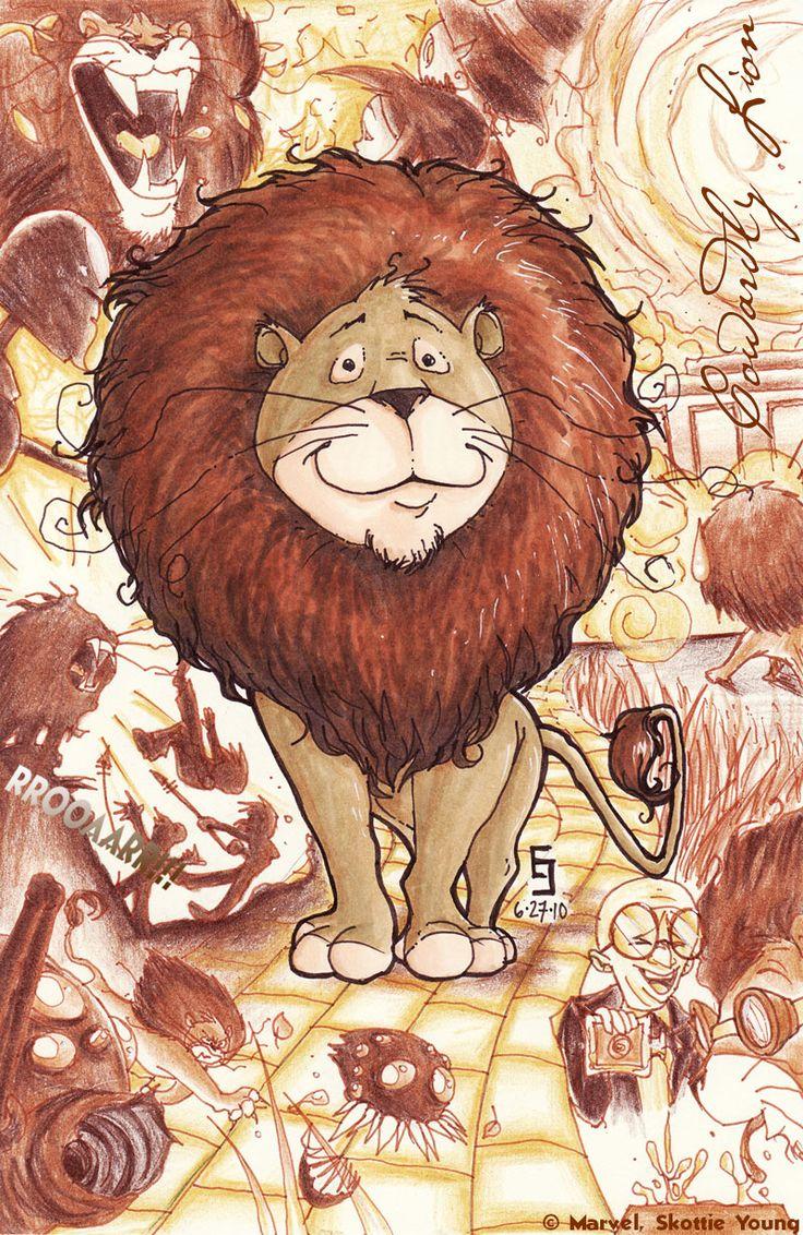 Twwoo Cowardly Lion By Cirgy Deviantart Com On