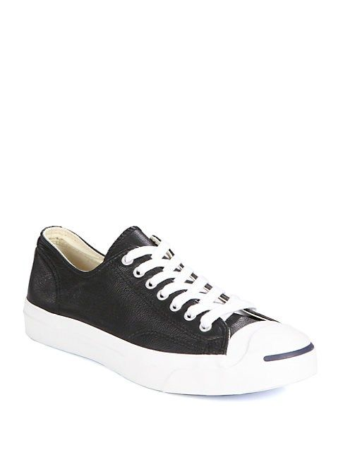 1642c772cf4316 CONVERSE JACK PURCELL LACE-UP SNEAKERS.  converse  cloth