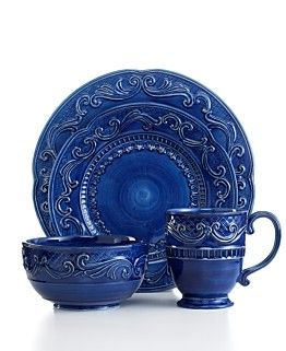 Needing new every day dishes...love the blue