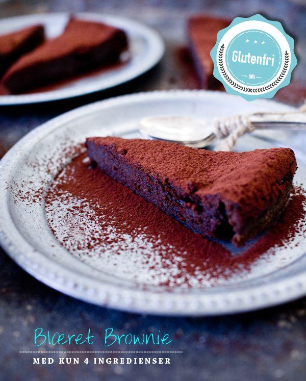 Chokoladekage med kun 4 ingredienser