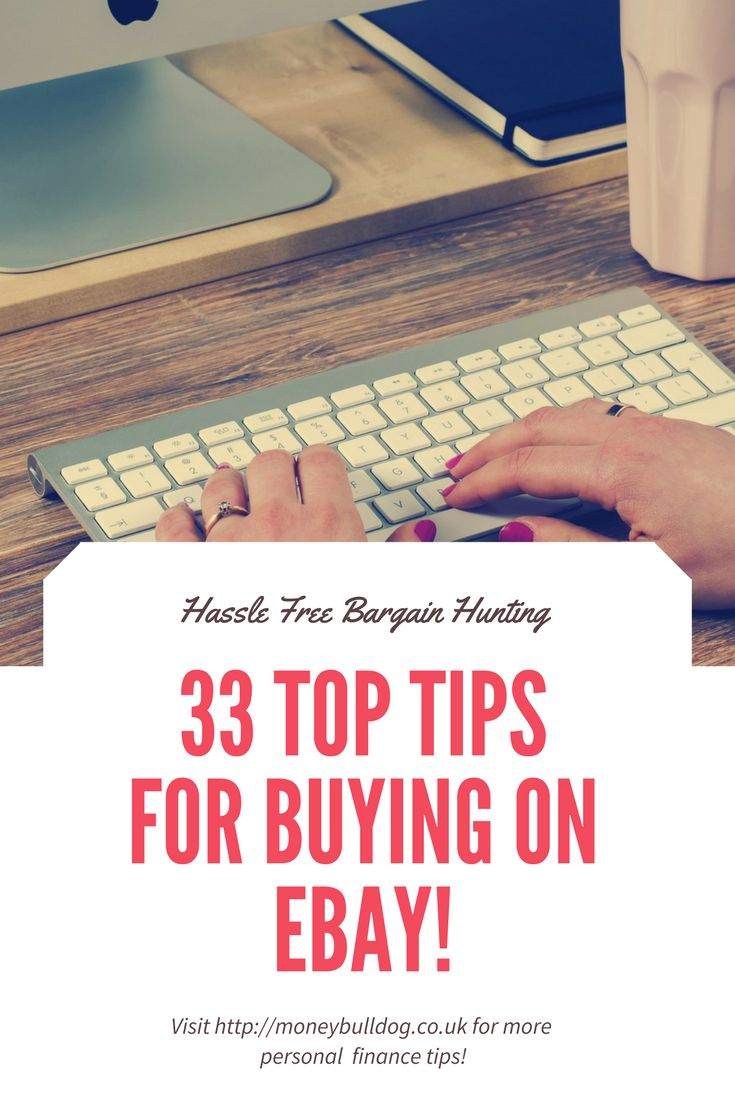 33 Top Tips for Buying on eBay
