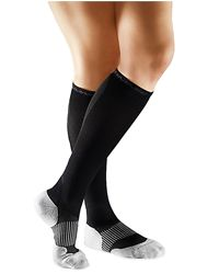 Tommie Copper                       Med Black Women's Calf Compression Socks                , 1.0 Each , Pair(S) #tommiecopper #compression #fitwear #apparel #vitaminshoppe