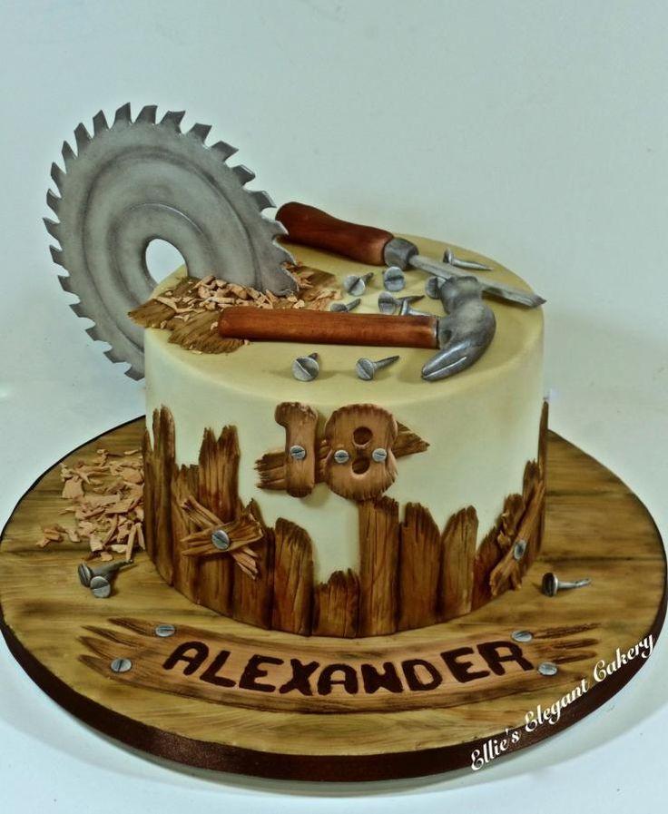 Classic carpenters cake by Ellie @ Ellie's Elegant Cakery
