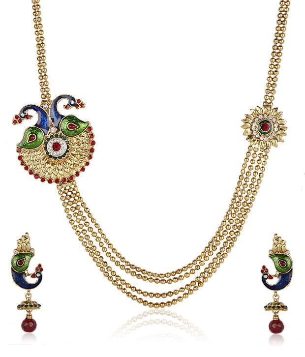 ShinningDiva Gold Plated Pretty Set, http://www.snapdeal.com/product/shinningdiva-gold-plated-pretty-set/27208130