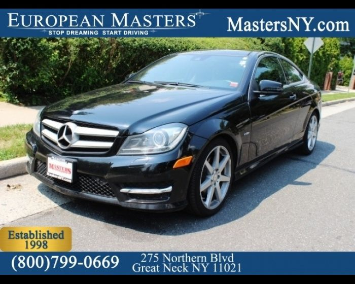 2012 MERCEDES-BENZ C-CLASS C350 4MATIC COUPE  - $20995, #LuxuryCars #EuropeanMasters #BenzForLess  http://www.theeuropeanmasters.net/mercedes-benz-c-class-c350-4matic-coupe-used-great-neck-ny_vid_2812021_rf_pi.html