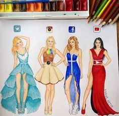 This social media dresses are so nice specialy the twitter dress