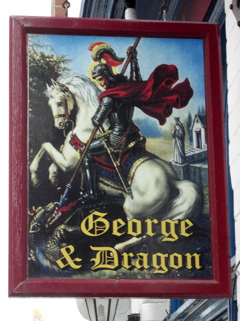 George and Dragon Pub Sign Dartmouth   Flickr - Photo Sharing!