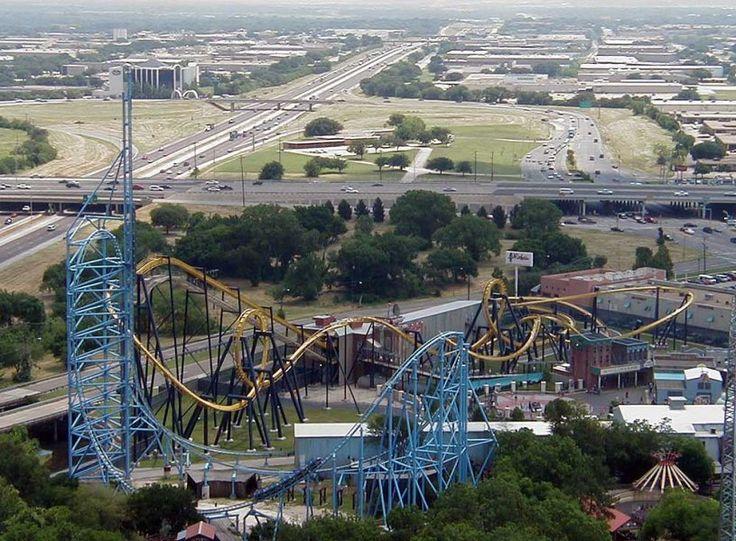 http://ru.esosedi.org/US/TX/1000464295/park_razvlecheniy_six_flags_over_texas/  Парк развлечений Six Flags Over Texas – #Соединённые_Штаты_Америки #Техас (#US_TX) Шесть флагов над Техасом (англ. Six Flags Over Texas) — крупный парк развлечений в городе Арлингтон (штат Техас, США). Парк является первым, построенным компанией «Шесть флагов»