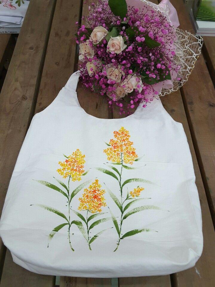 천아트-좁쌀풀 (에코백) : 네이버 블로그