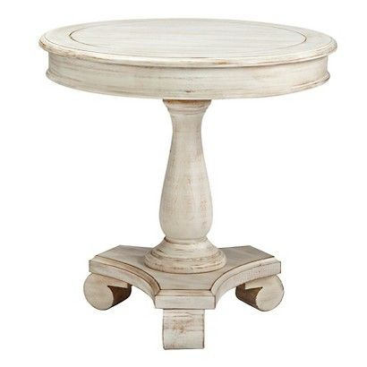 Mirimyn Round Accent Table White - Signature Design by Ashley