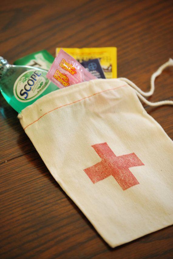 Mini Emergency Bag for Favors Events Parties Set by NoteablyUnique, $15.00