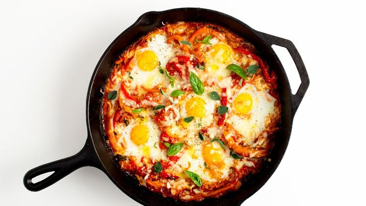 Baked eggs are great for brunch, and this Portuguese version is no exception.