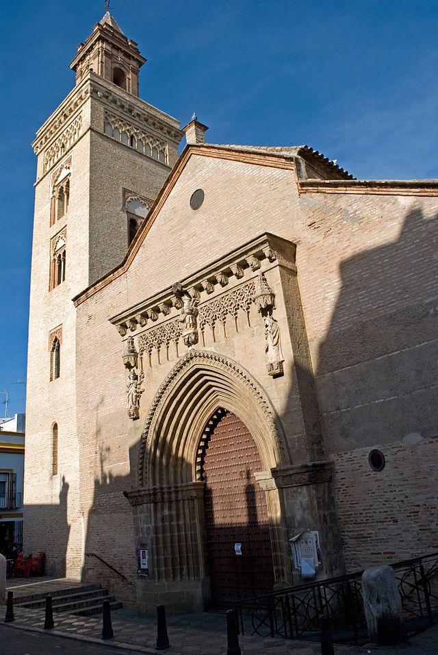 Iglesia de San Marcos (San Marcos Church), 14th century, Gothic-Mudejar style. Sevilla, España. #Spain