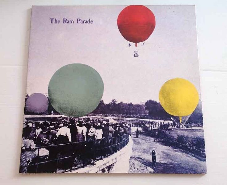 RAIN PARADE Emergency Third Rail Power Trip Paisley UG PSYCHE Vinyl LP Record