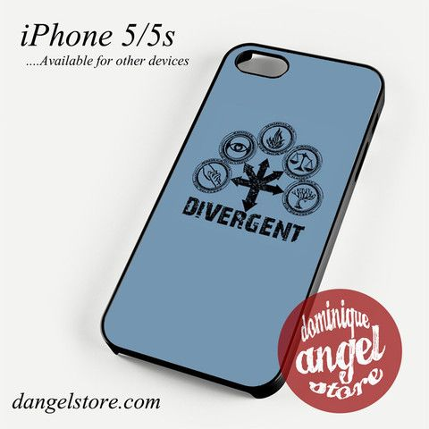 Divergent All Faction 2 Phone Case for iPhone 4/4s/5/5c/5s/6/6s/6 plus
